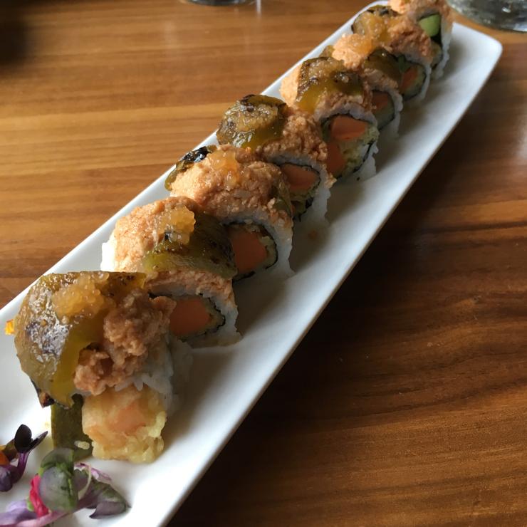 Vegan user review of Shizen Vegan Sushi Bar & Izakaya in San Francisco. Scarlet Smile