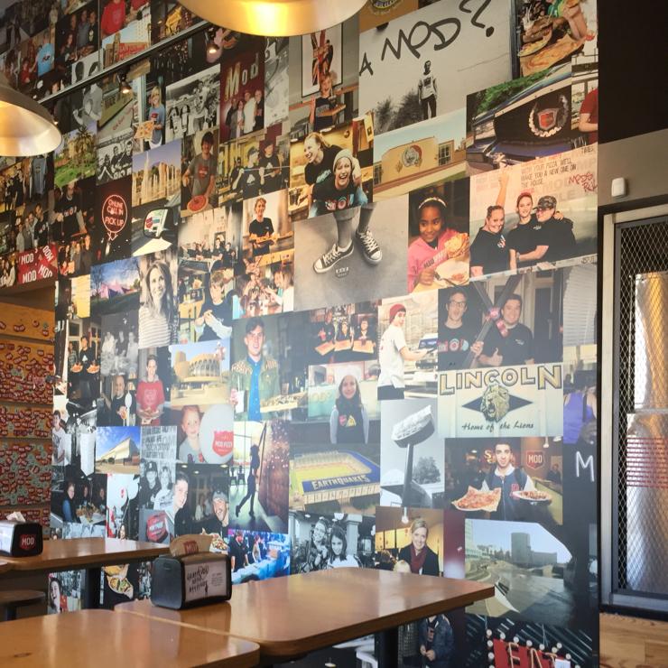 Vegan user review of MOD Pizza in San Jose.