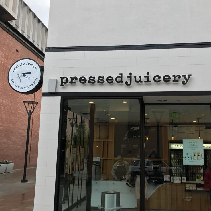 Vegan user review of Pressed Juicery in Palo Alto.