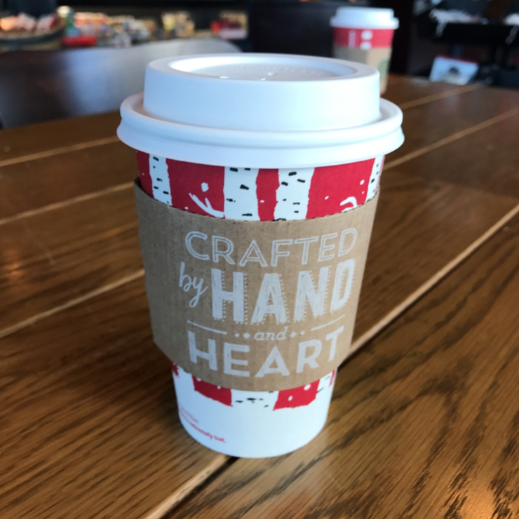 Vegan user review of Starbucks in Livermore. Freshly brewed coffee with soy milk ☕️ 🎄 🎉