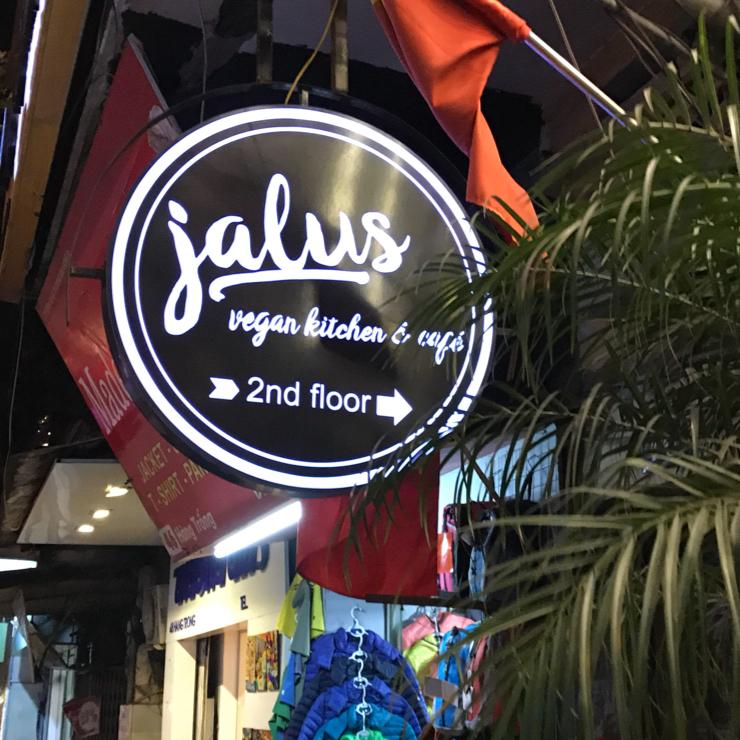 Vegan user review of Jalus Vegan Kitchen in Ha Noi. Vegan crawl. In Hanoi