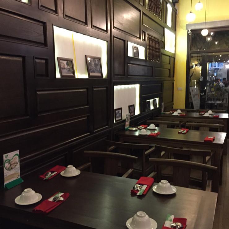 Vegan user review of Minh Chay Vegan Restaurant in Han Noi.