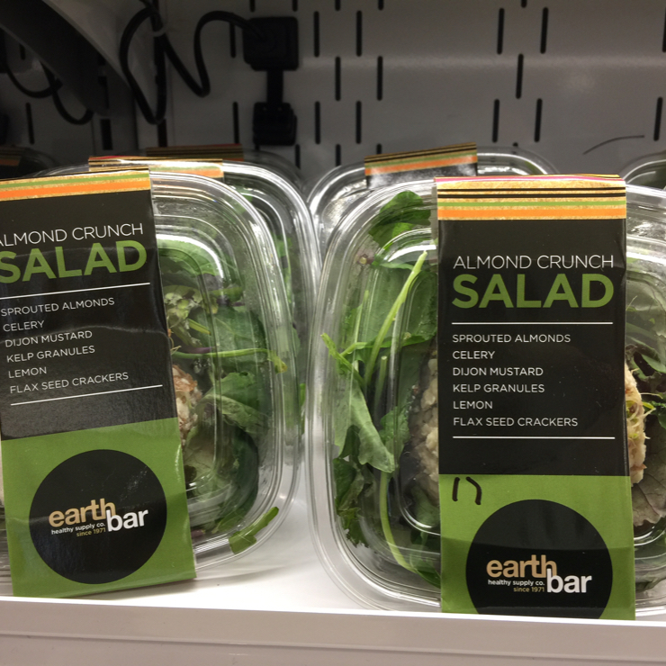 Vegan user review of Earthbar in Los Angeles Airport (LAX). Healthy foods at LAX Terminal 6