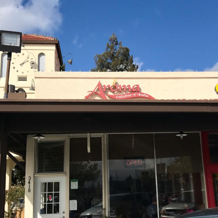 Vegan user review of Aroma Cuisine of India in Castro Valley.