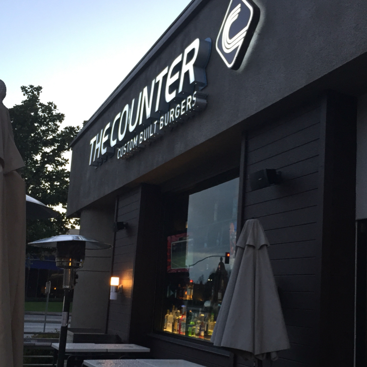 Vegan user review of The Counter Fremont in Fremont.