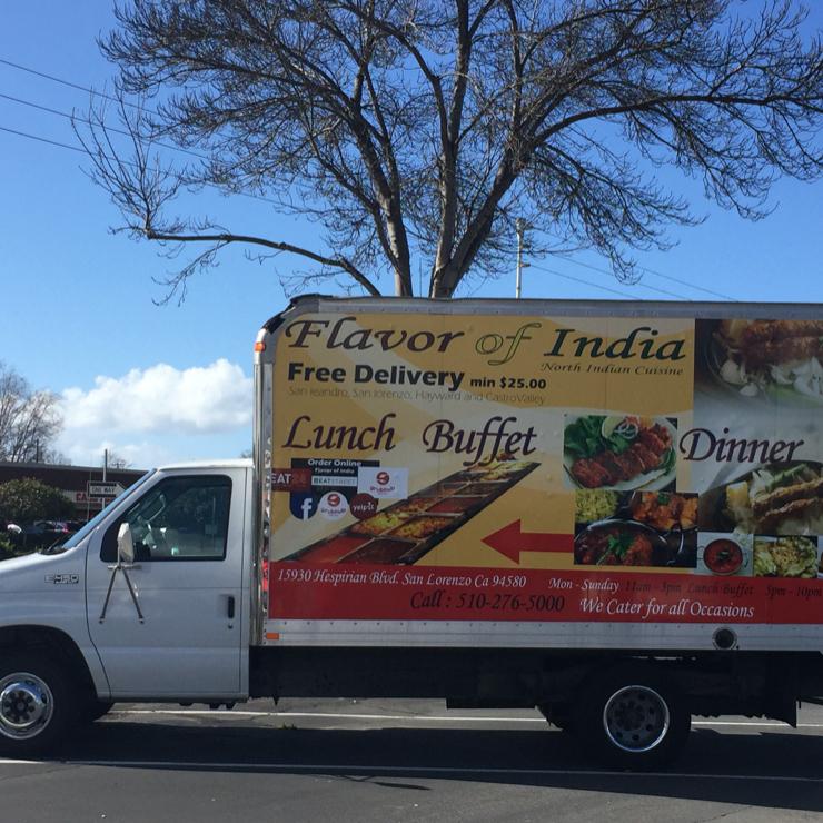 Vegan user review of Flavor of India in San Lorenzo.