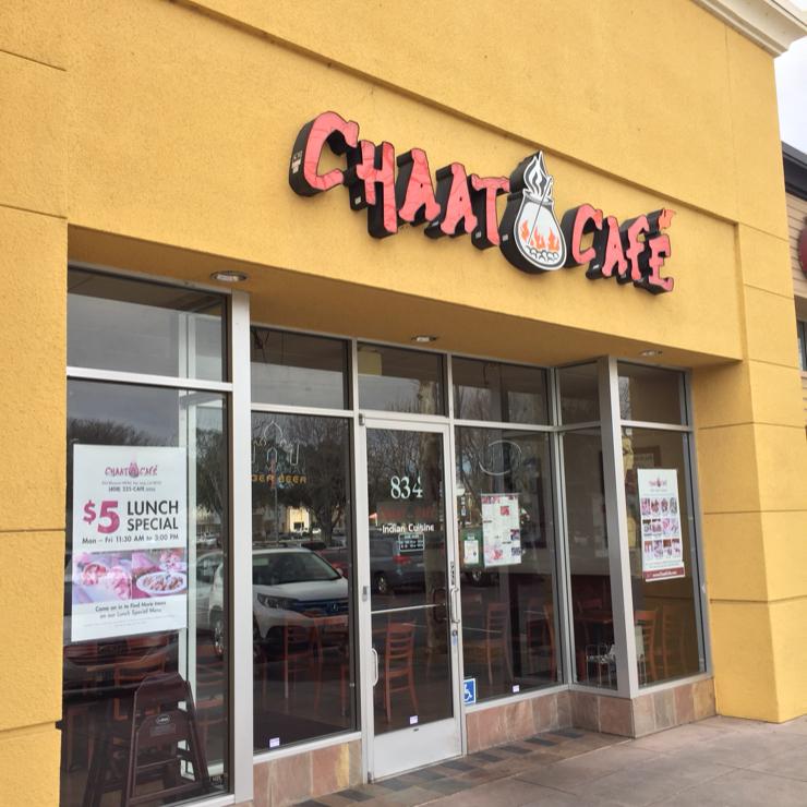 Vegan user review of Chaat Cafe in San Jose.