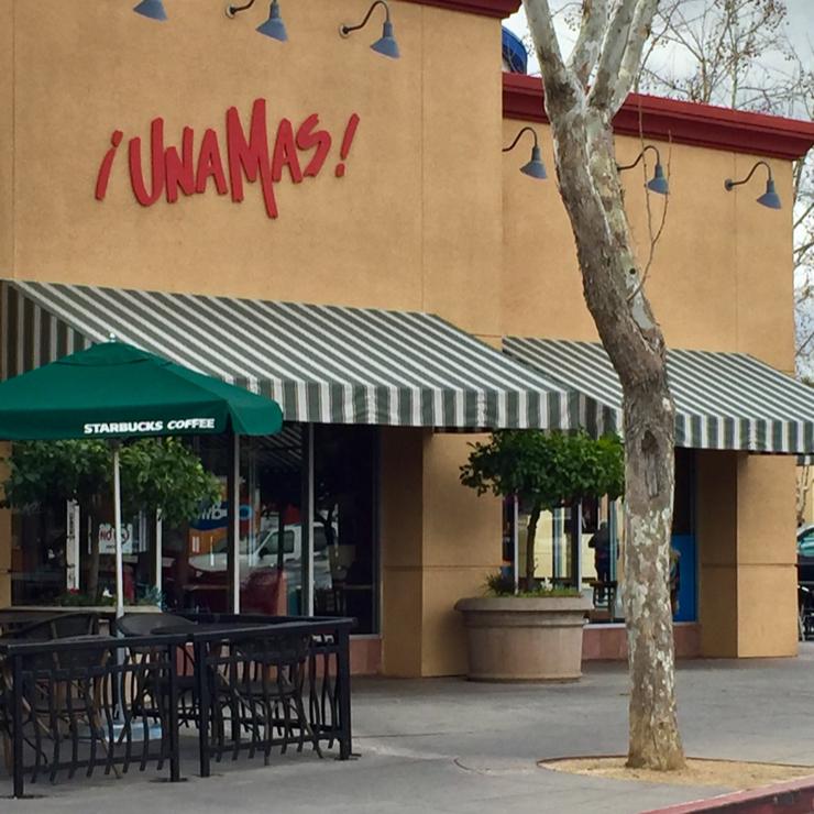 Vegan user review of Una Mas Mexican Grill in San Jose.