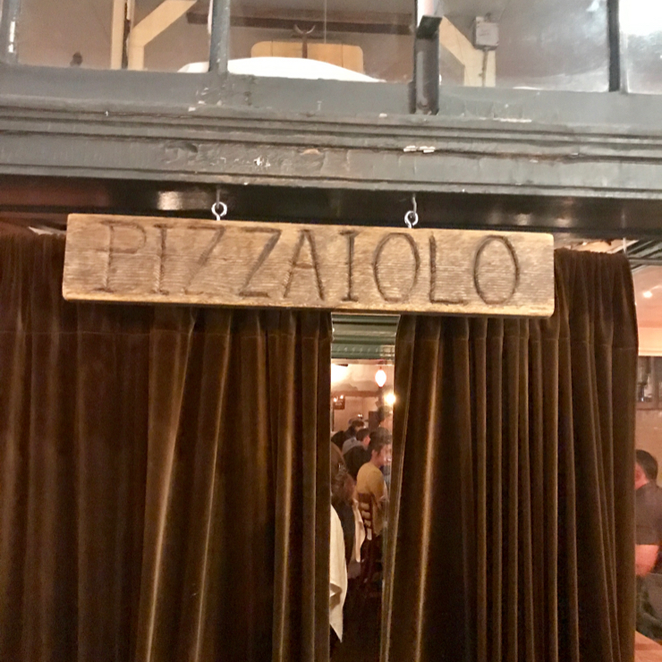Vegan user review of Pizzaiolo in Oakland.