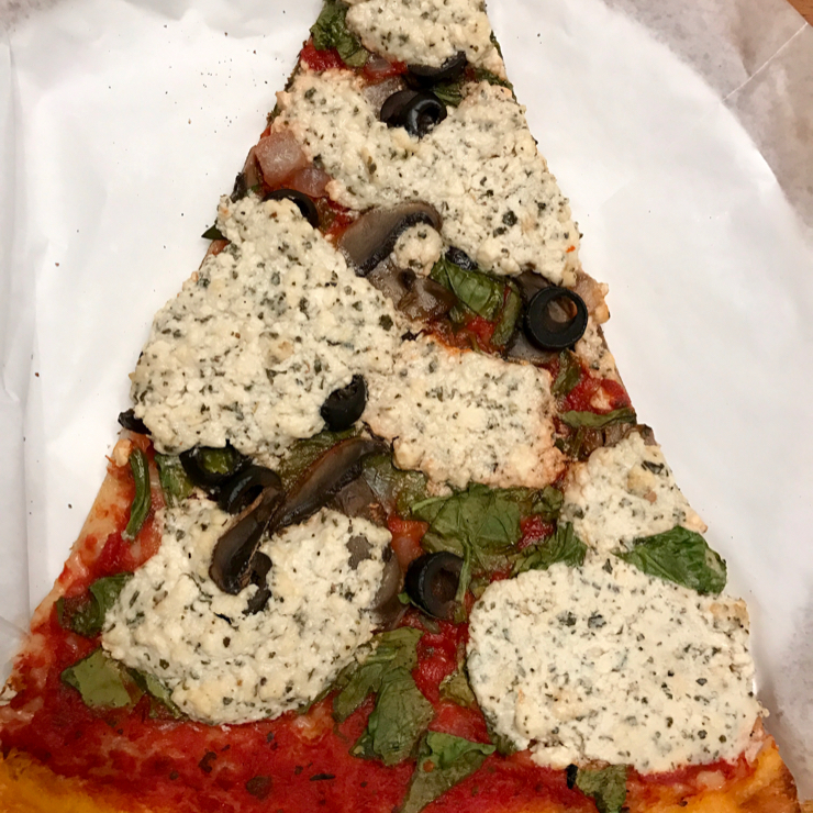 Vegan user review of Lanesplitter Pizza & Pub in Oakland.