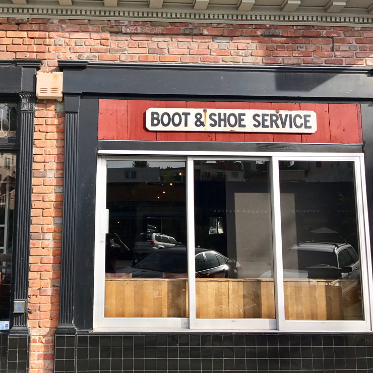 Vegan user review of Boot & Shoe Service in Oakland.