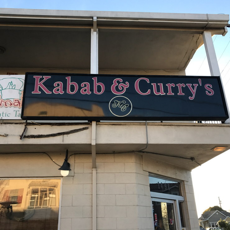 Vegan user review of Kabab and Curry's in Santa Clara.