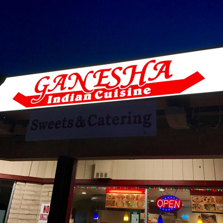 Vegan user review of Ganesha Indian Cuisine Sweets & Catering in Santa Clara.