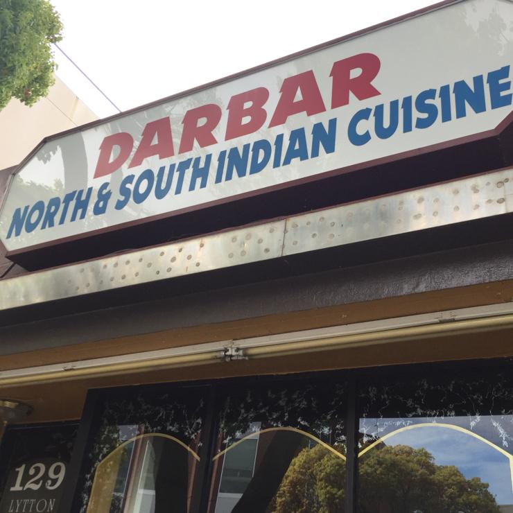 Vegan user review of Darbar Indian Cuisine in Palo Alto.