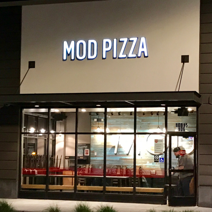 Vegan user review of MOD Pizza in Cupertino.