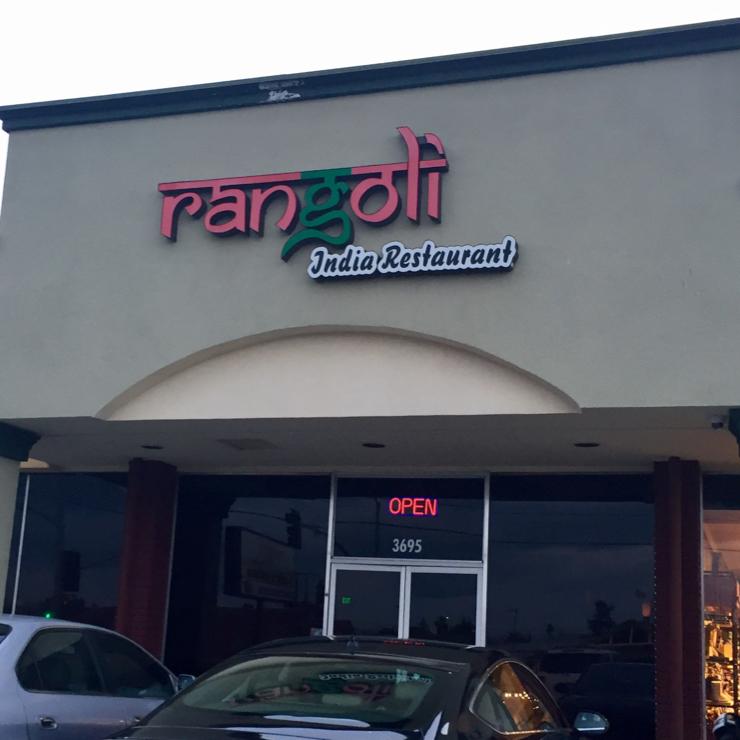 Vegan user review of Rangoli India Restaurant in San Jose.