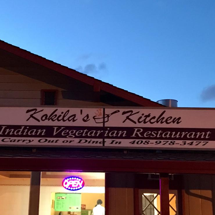 Vegan user review of Kokila's Kitchen in San Jose.