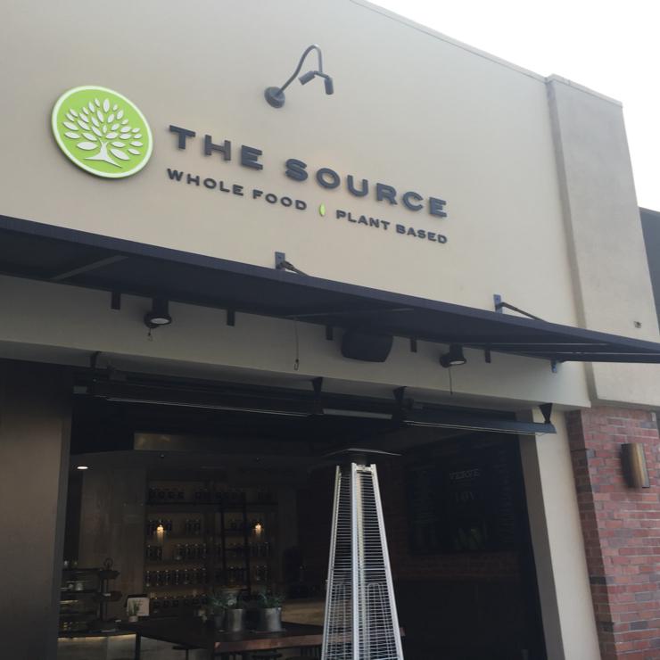 Vegan user review of The Source in San Jose.