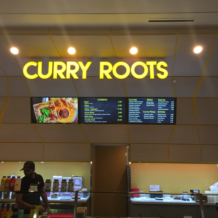 Vegan user review of Curry Roots in San Jose.