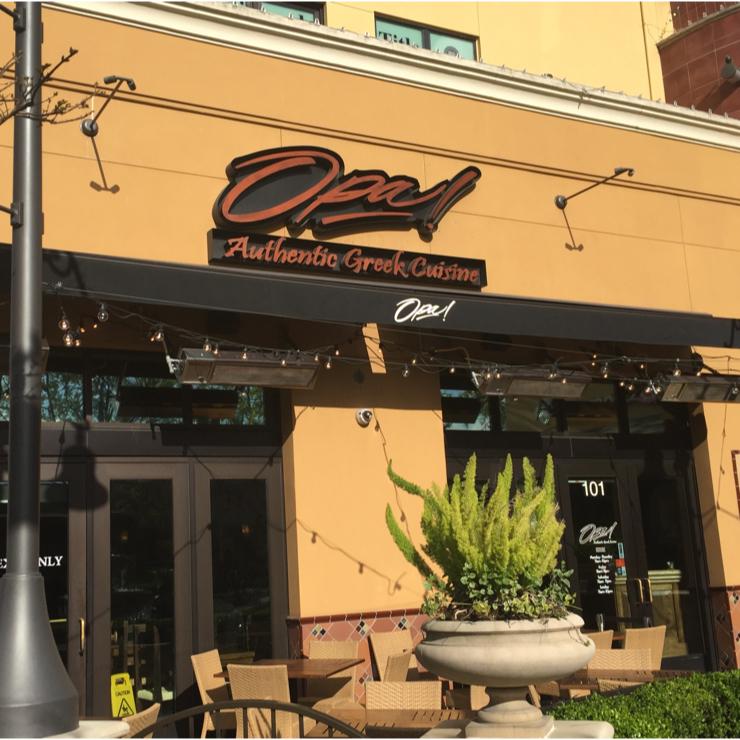 Vegan user review of Opa! in San Jose.