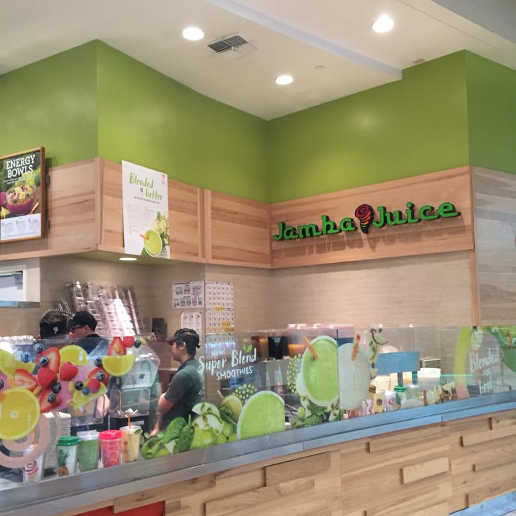 Vegan user review of Jamba Juice in San Jose.