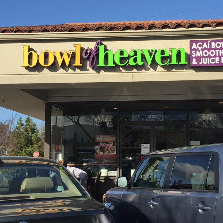 Vegan user review of Bowl of Heaven in Mountain View.