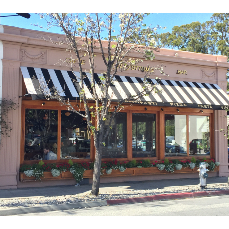 Vegan user review of Il Fornaio in Burlingame.
