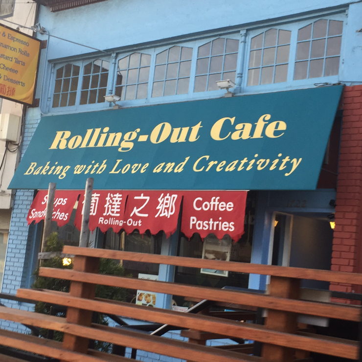 Vegan user review of Rolling Out in San Francisco.