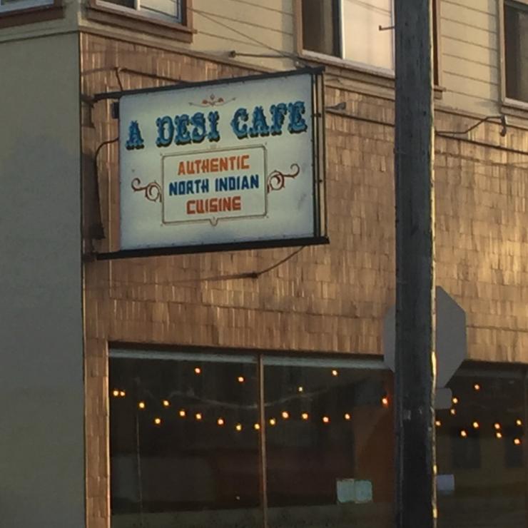 Vegan user review of A Desi Cafe in San Francisco.