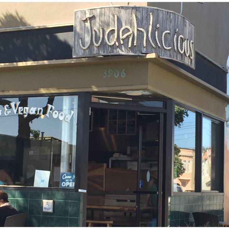 Vegan user review of Judahlicious in San Francisco.