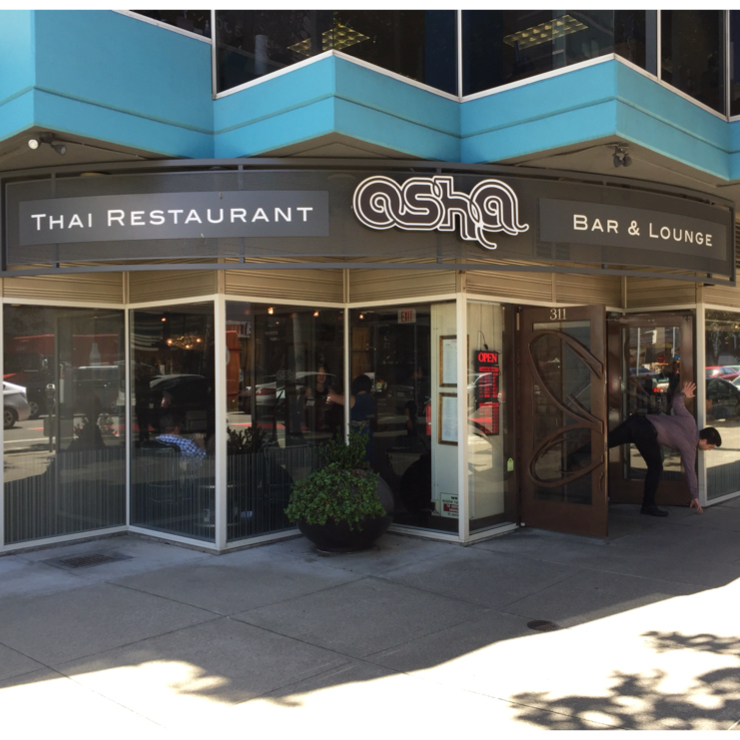 Vegan user review of Osha Thai Restaurant and Lounge on Third Street in San Francisco.