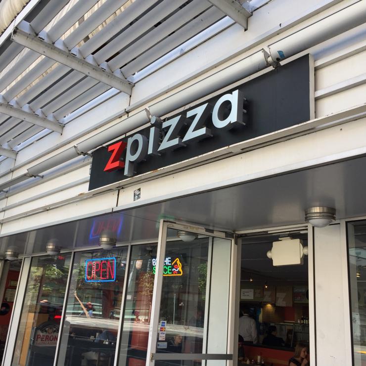 Vegan user review of zpizza in San Francisco.