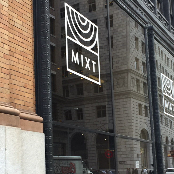 Vegan user review of Mixt in San Francisco.