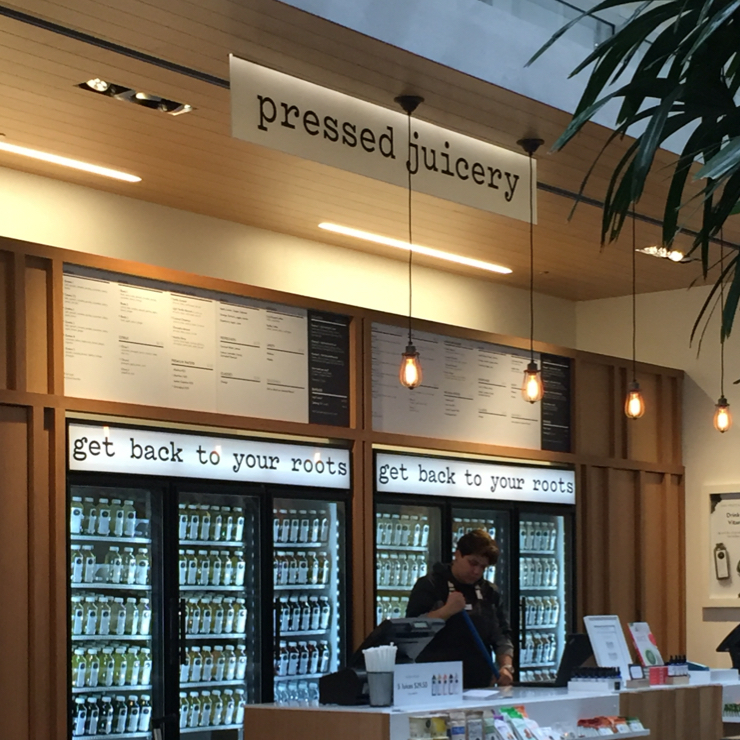 Vegan user review of Pressed Juicery in San Francisco.