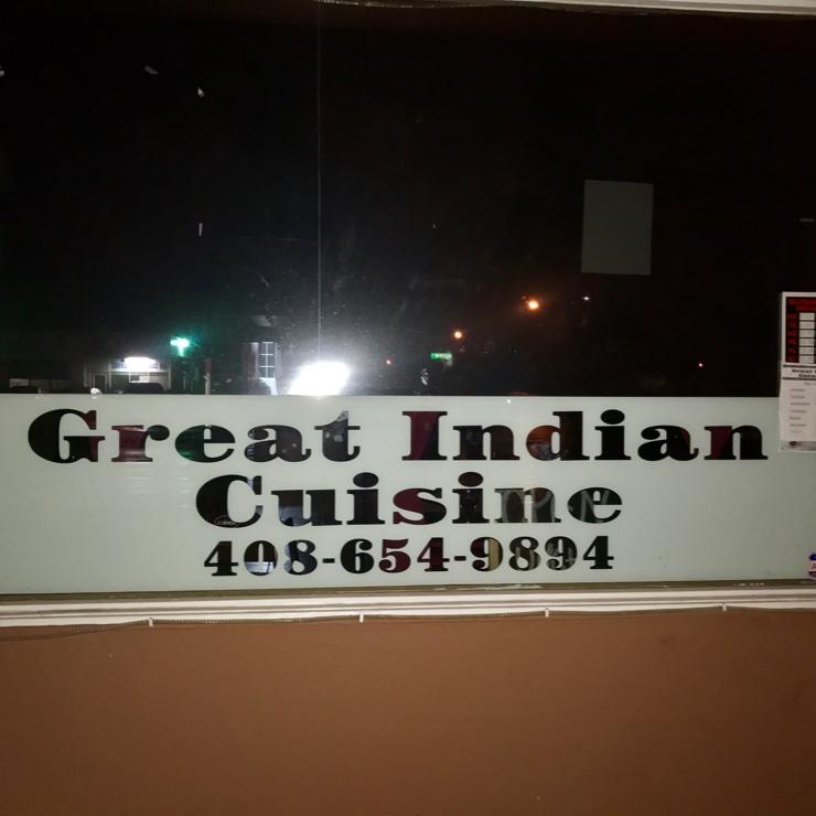 Vegan user review of Great Indian Cuisine in Santa Clara.