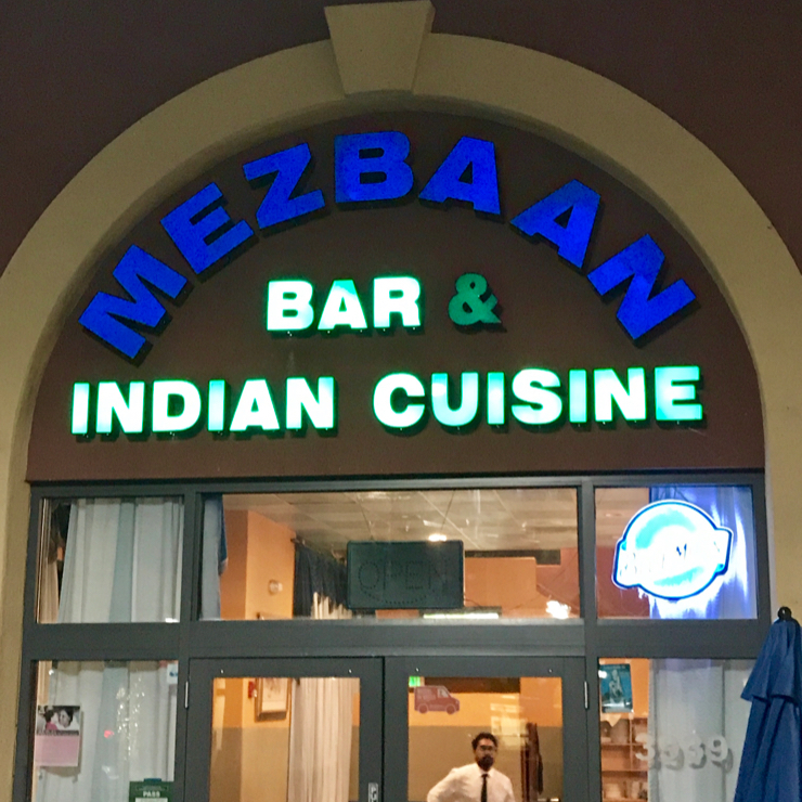 Vegan user review of Mezbaan in Santa Clara.