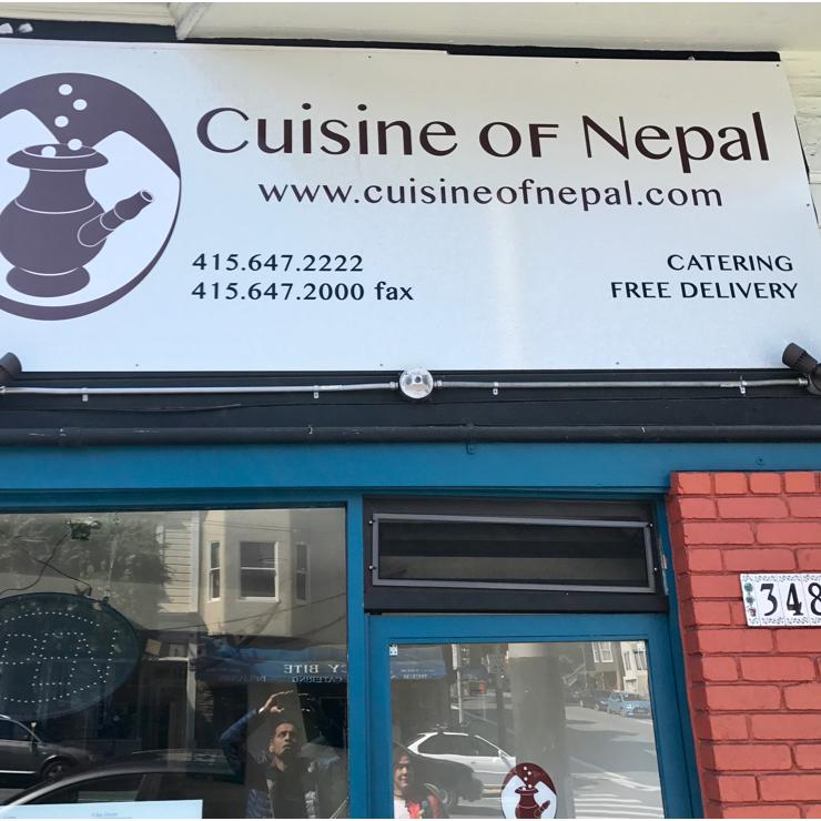 Vegan user review of Cuisine of Nepal in San Francisco.