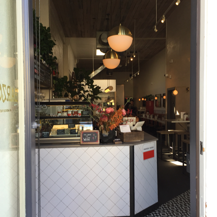 Vegan user review of BARZOTTO in San Francisco.