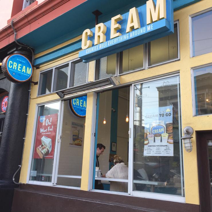 Vegan user review of CREAM in San Francisco.