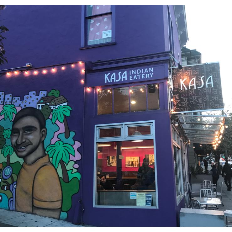 Vegan user review of Kasa Indian Eatery in San Francisco.