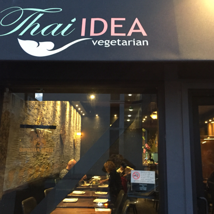 Vegan user review of Thai Idea Vegetarian in San Francisco.