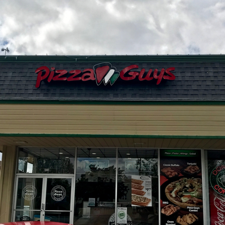 Vegan user review of Pizza Guys in San Jose.