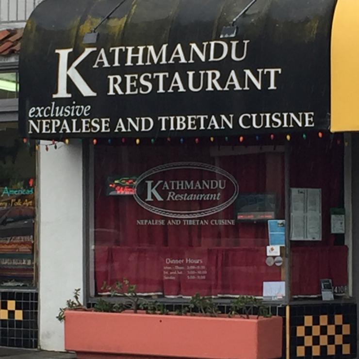 Vegan user review of Kathmandu Restaurant in Albany.