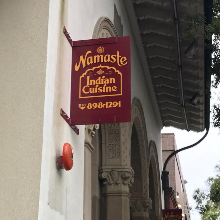 Vegan user review of Namaste Madras Cuisine in Berkeley.