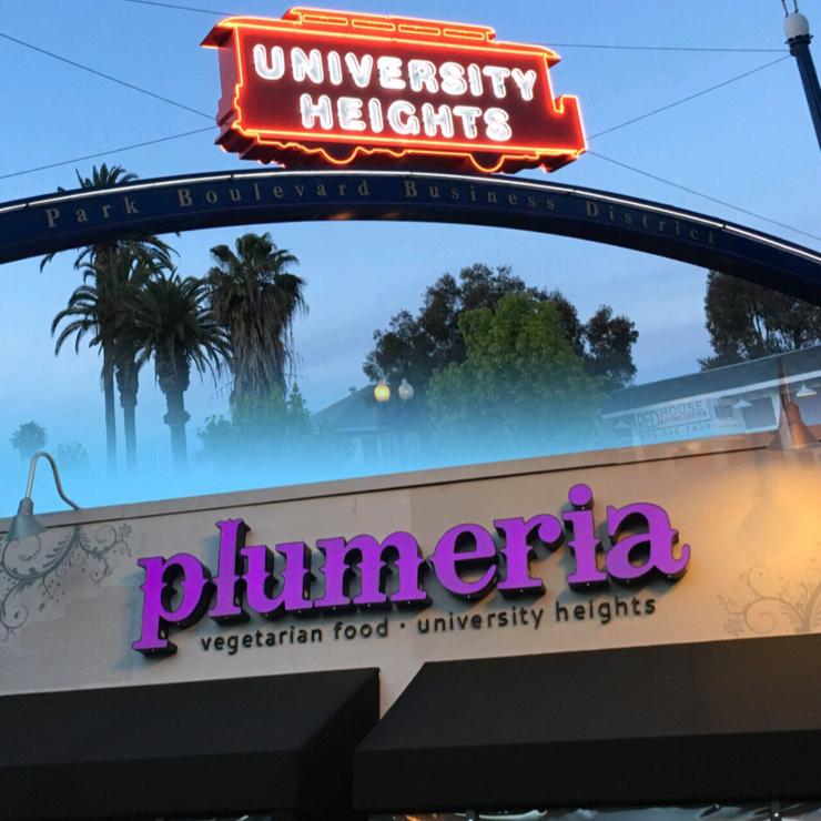 Vegan user review of Plumeria Vegetarian Restaurant in San Diego. Everything is super fresh.