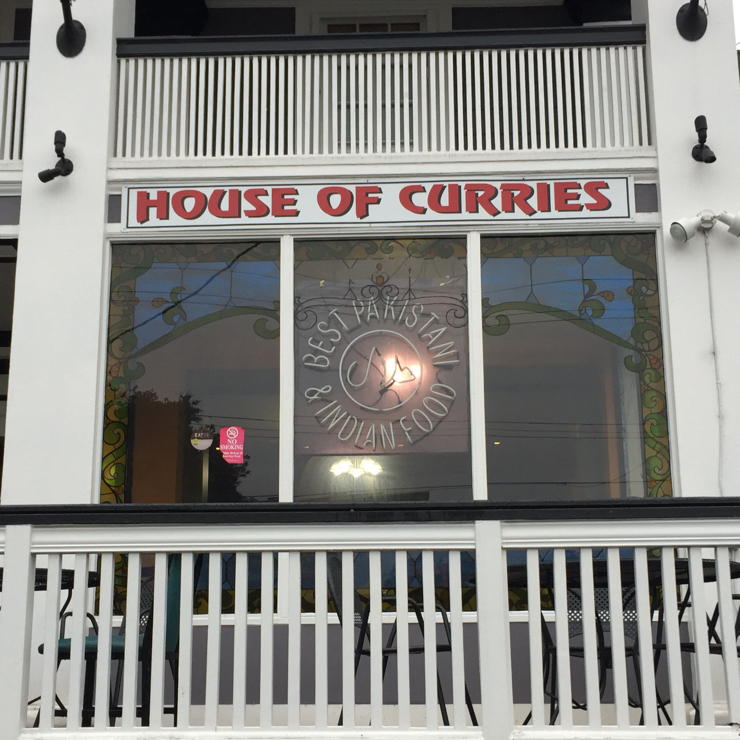 Vegan user review of House of Curries in Berkeley.