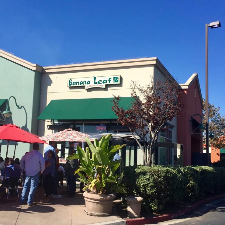 Vegan user review of Banana Leaf Restaurant in Milpitas.