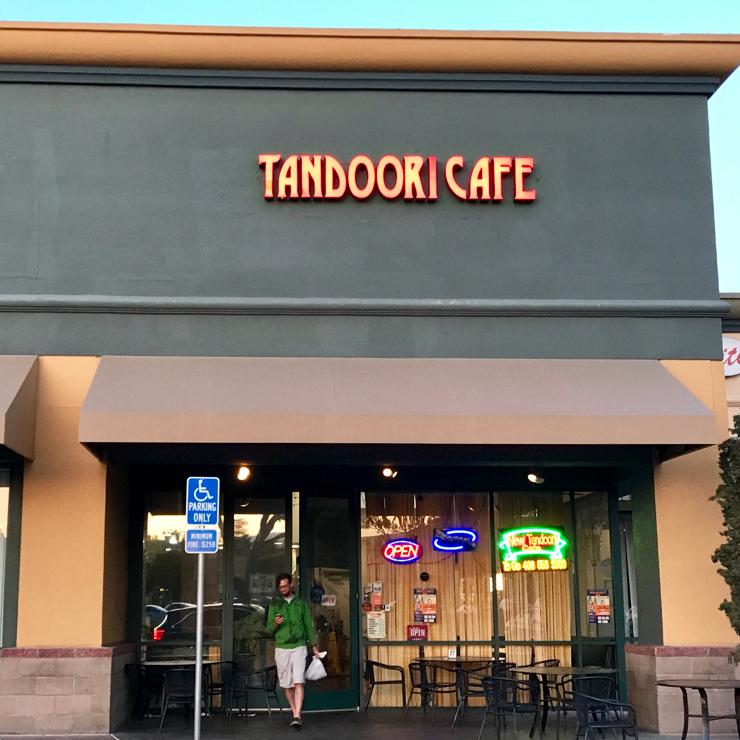 Vegan user review of New Tandoori Cafe in San Jose.