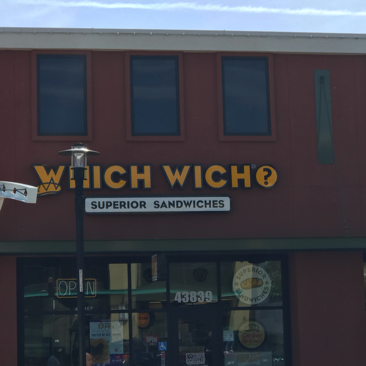 Vegan user review of Which Wich in Fremont.