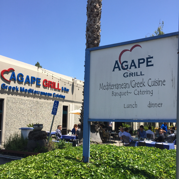 Vegan user review of Agape Grill in Sunnyvale.